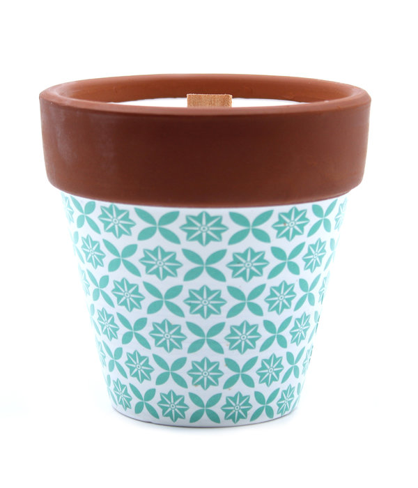 AW Home Aromatherapy Woodwick Soy Candle Herb Garden Rosemary