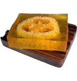 Loofah zeep Mango