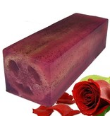 Bathroom Heaven Loofah Soap Slice - Rose