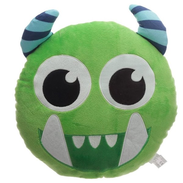 Plush Cushion - Monstarz Green