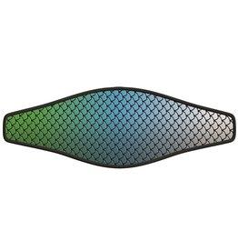 Neopreen Masker band - Fish Skin Blue
