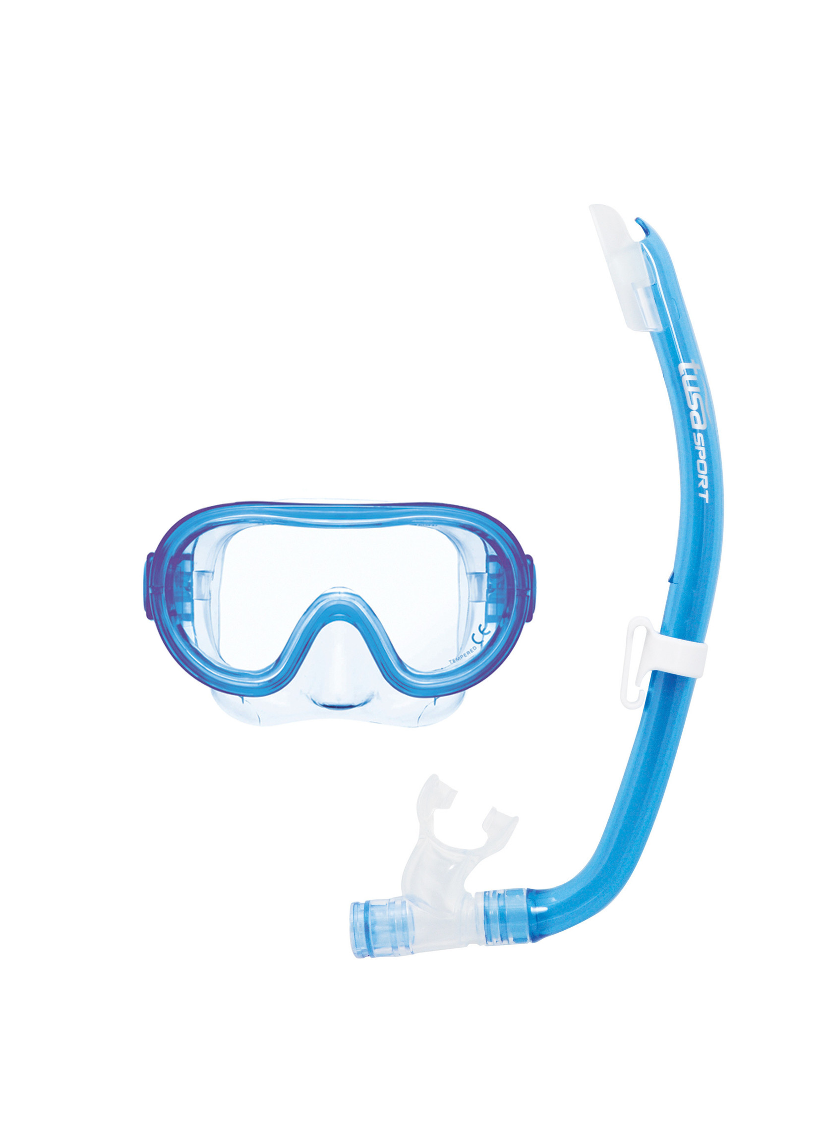 TUSA TUSA Mini Platina Youth Combo - Clear Light Blue