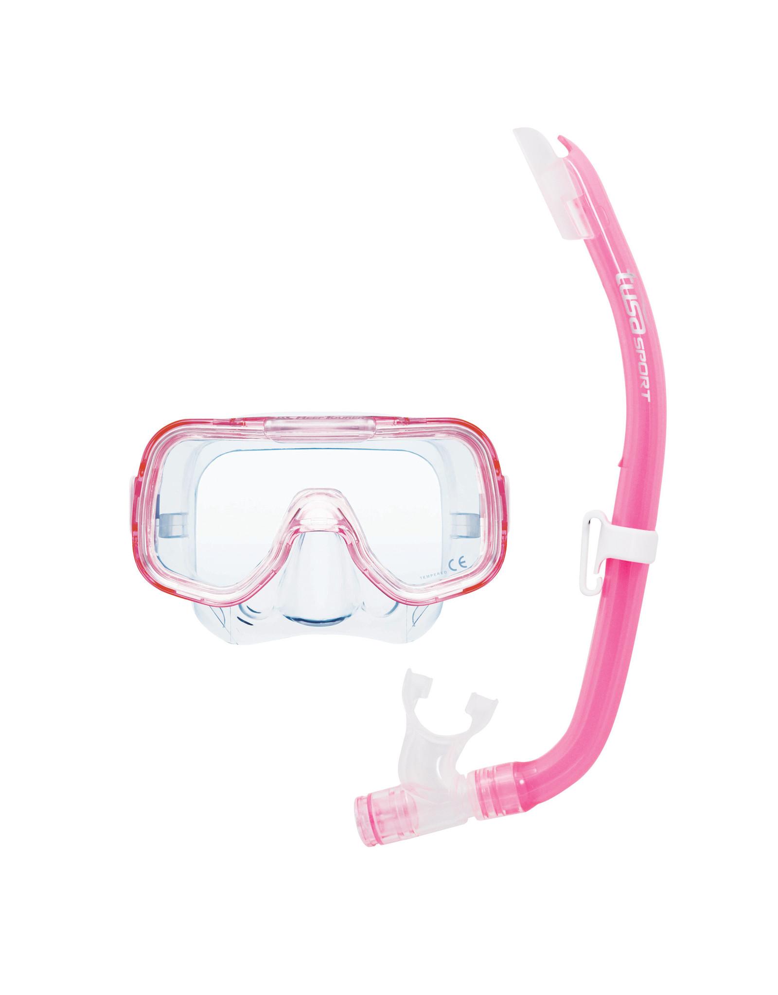 TUSA TUSA Mini-Kleio Youth Combo - Clear Pink