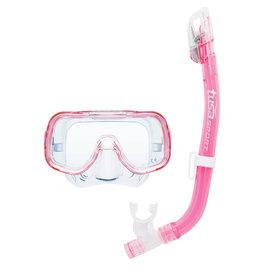 TUSA TUSA Mini-Kleio Youth Dry Combo - Clear Pink