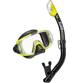 TUSA TUSA Visio Tri-Ex Adult Combo - Black/Flash Yellow