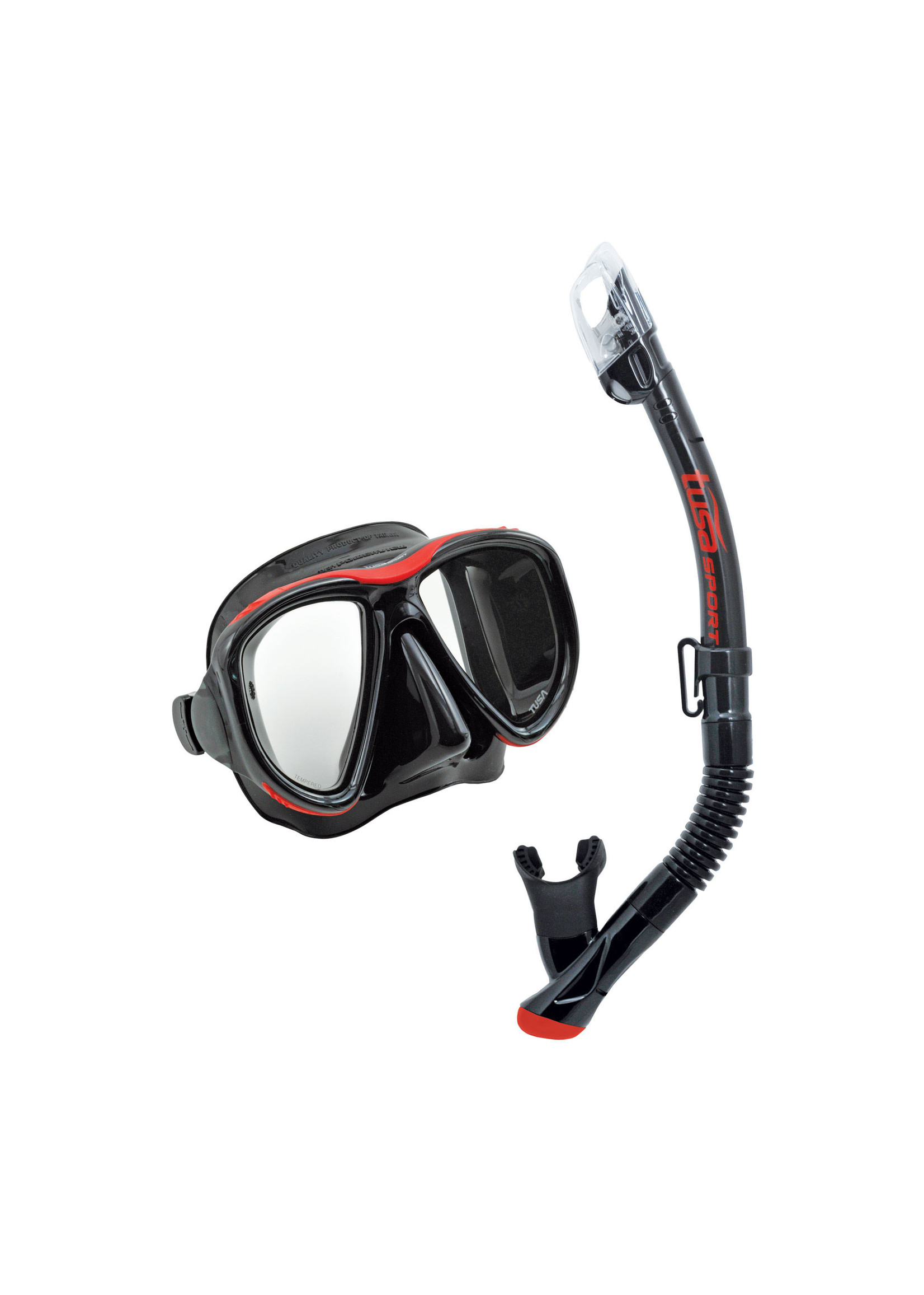 TUSA TUSA Powerview Adult Dry Combo - Black/Red