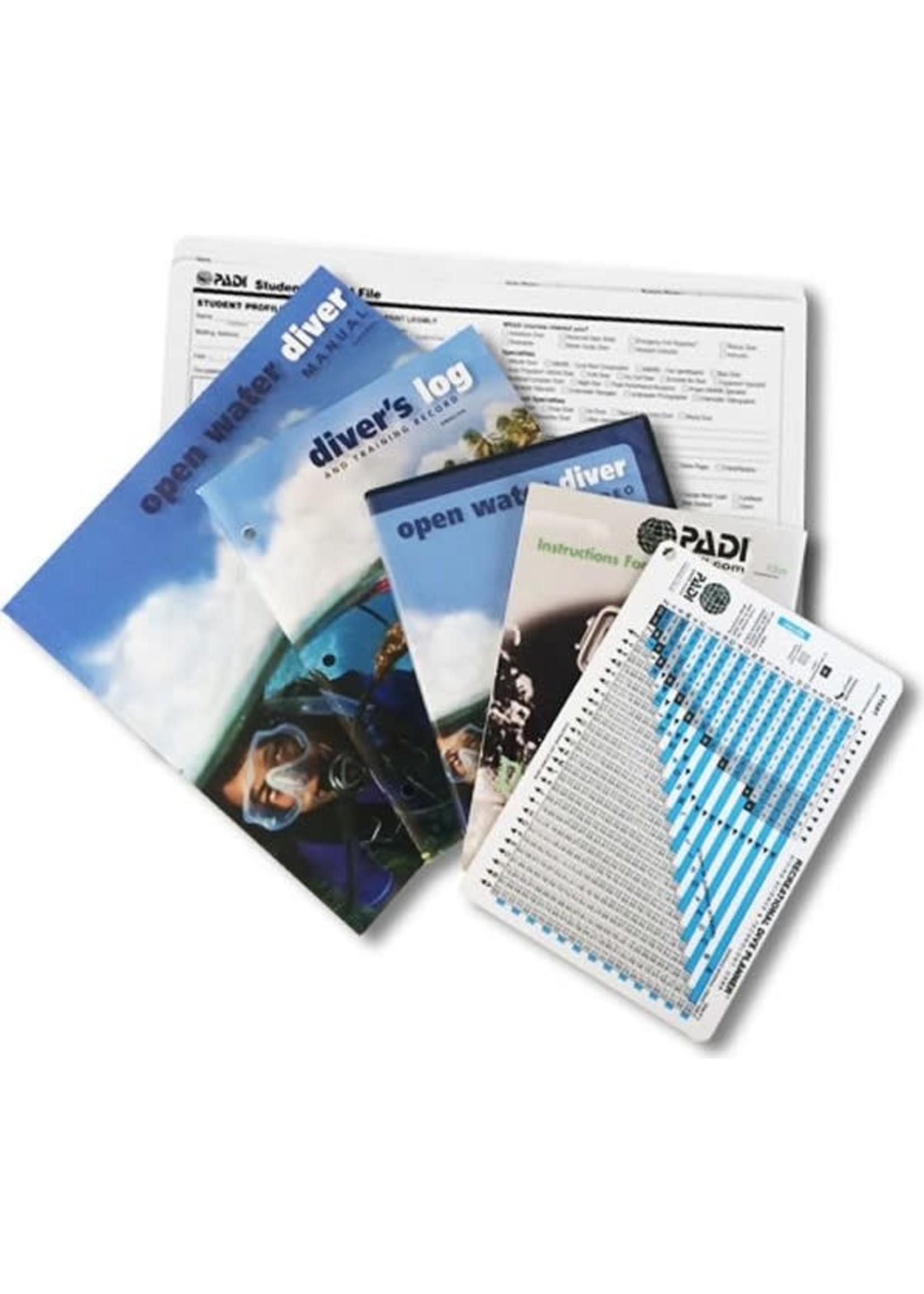 PADI Crewpack - Open Water met RDP tabel - Ultimate