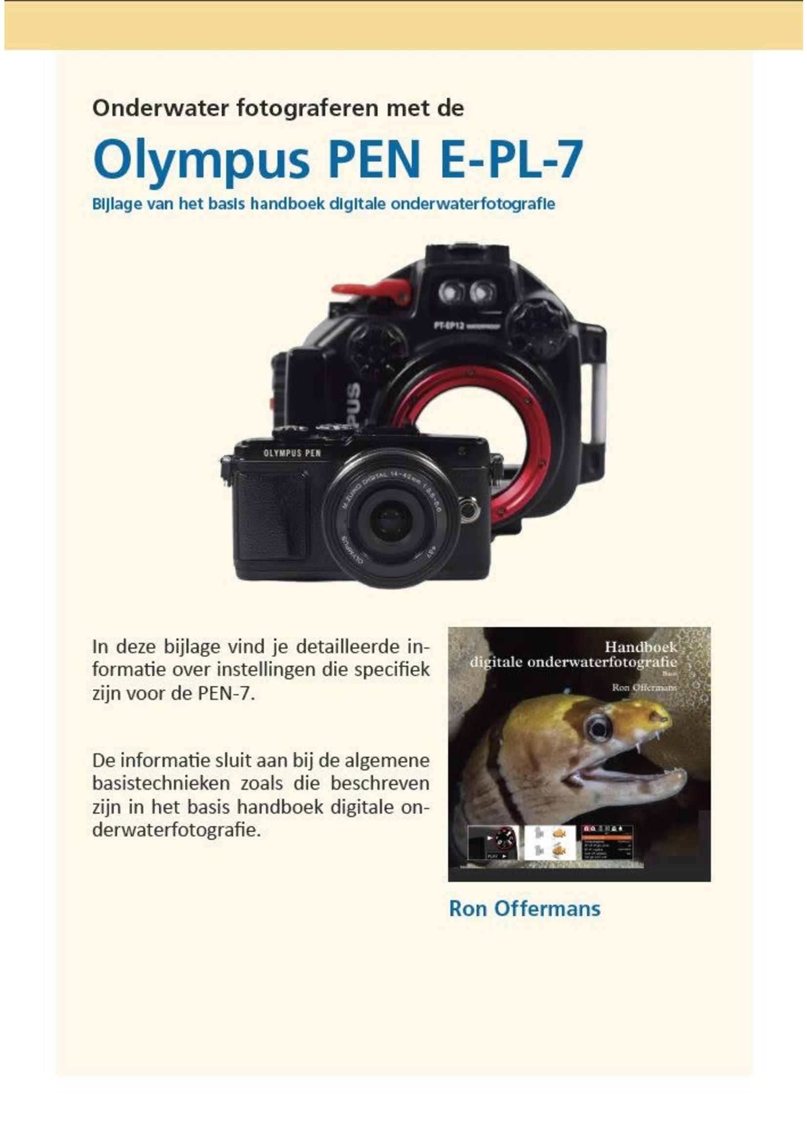 Bijlage onderwater fotograferen met de Olympus PEN E-PL7