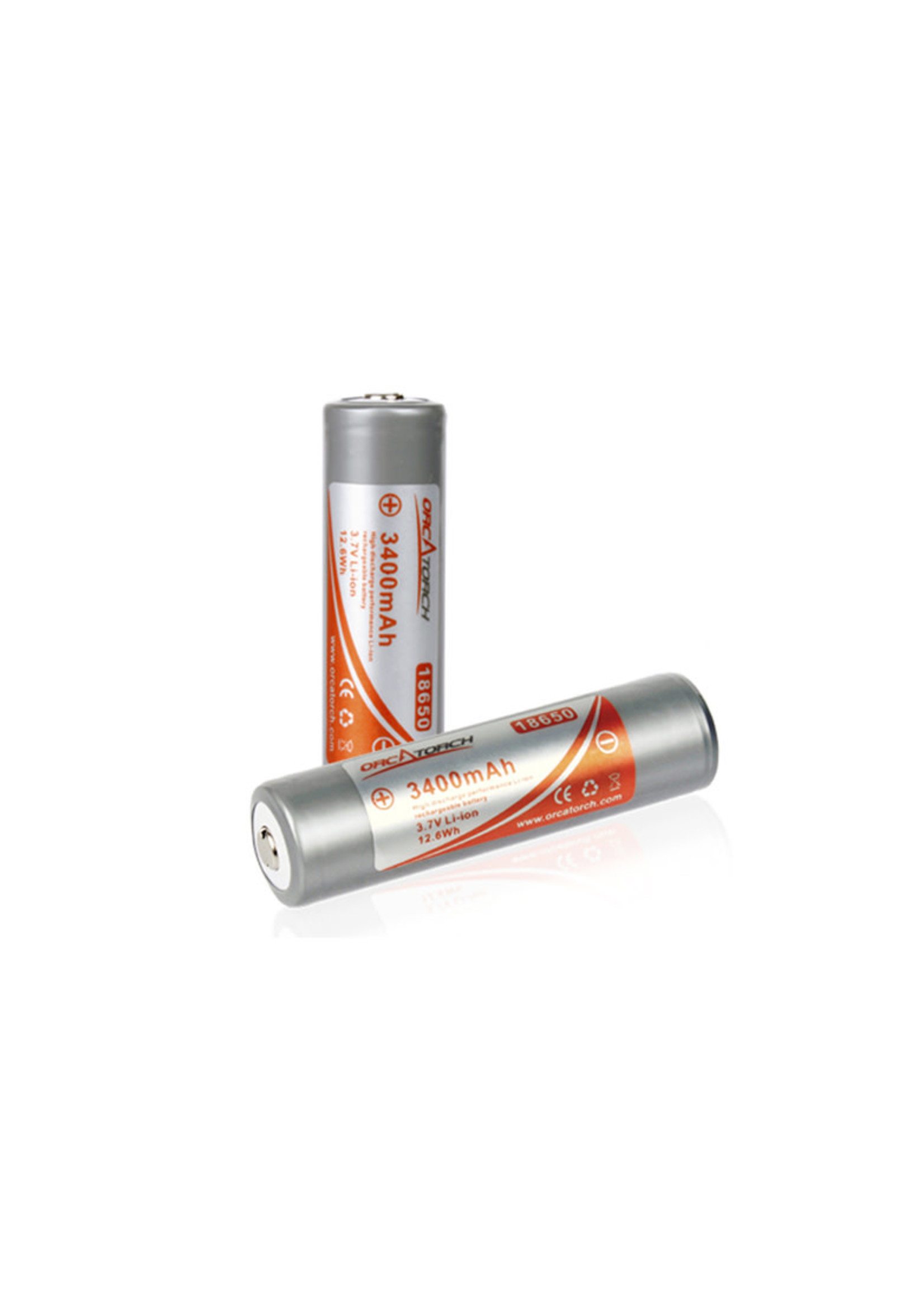 OrcaTorch OrcaTorch 18650 Rechargeable Battery