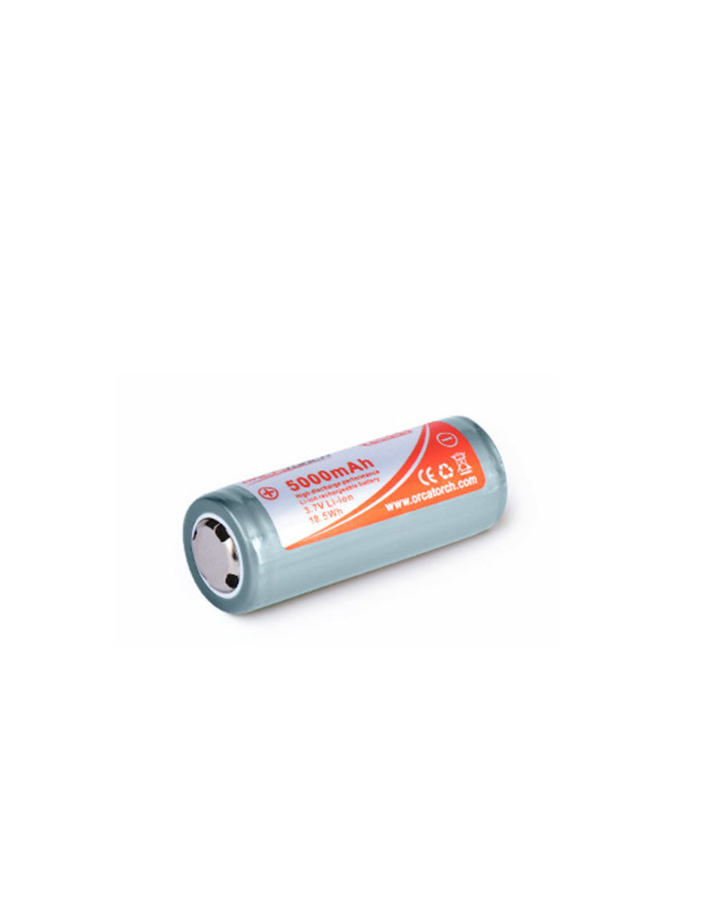 OrcaTorch 26650 Rechargeable Battery