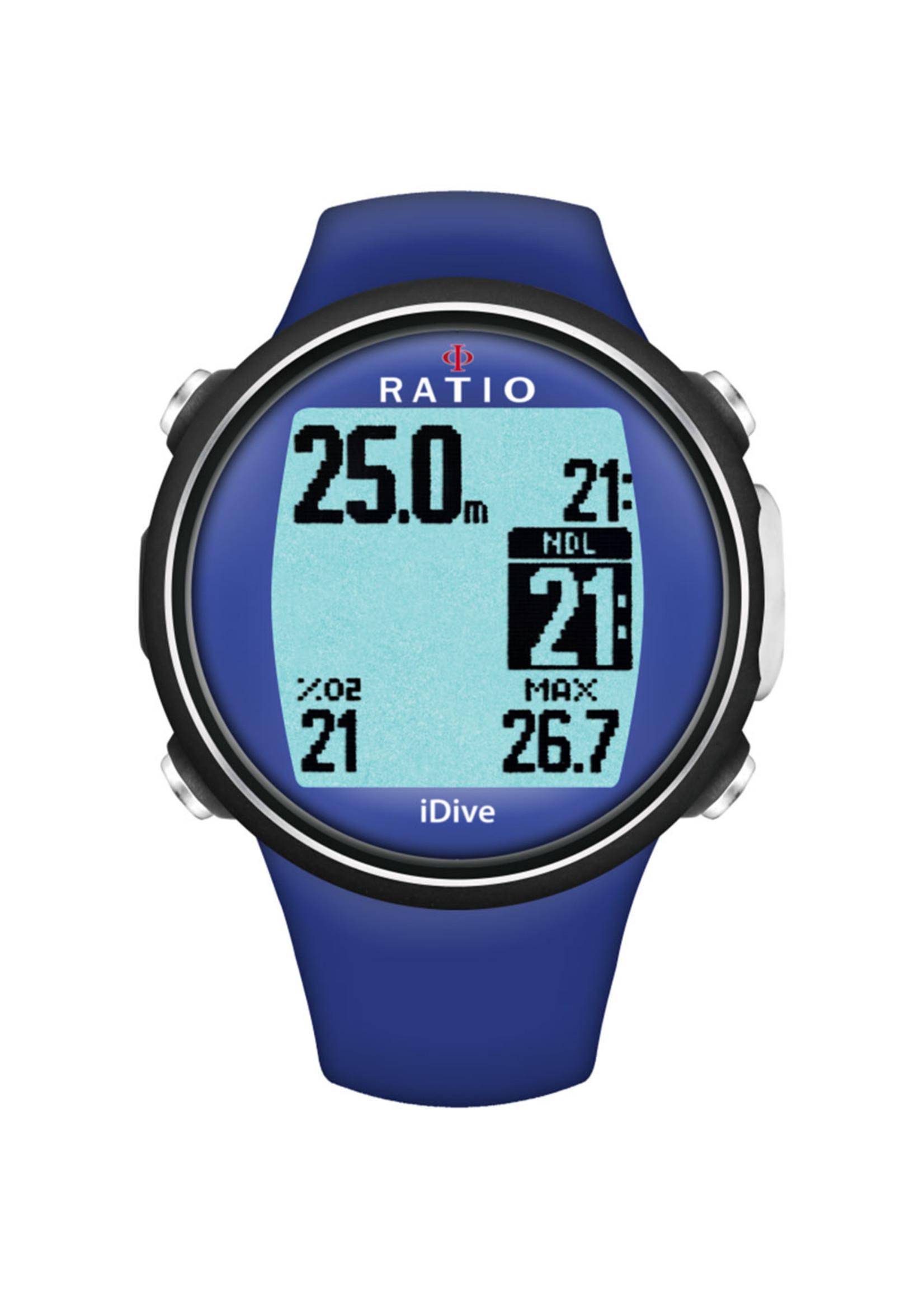 Ratio iDive Sport - Blauw