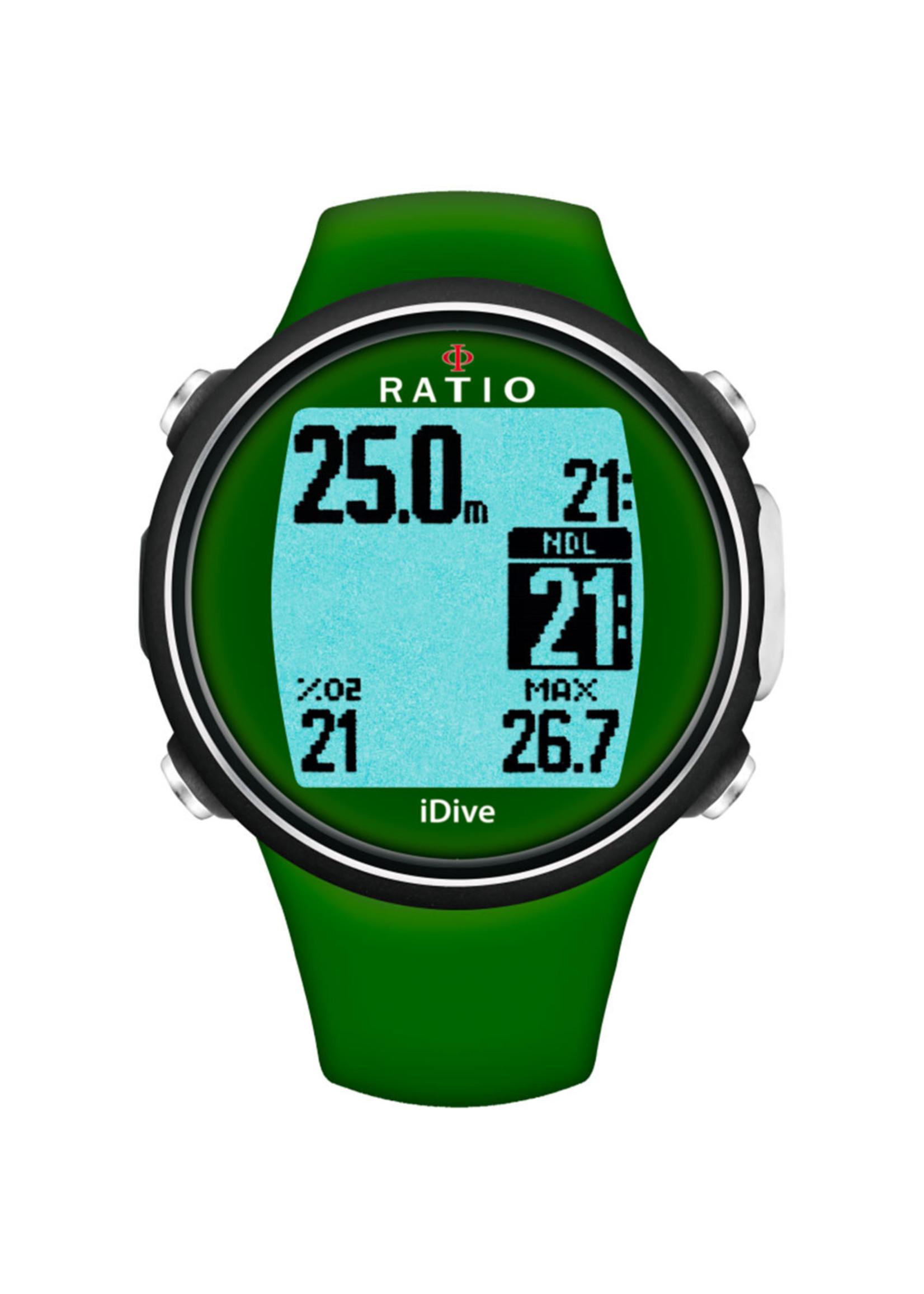 Ratio iDive Sport - Groen