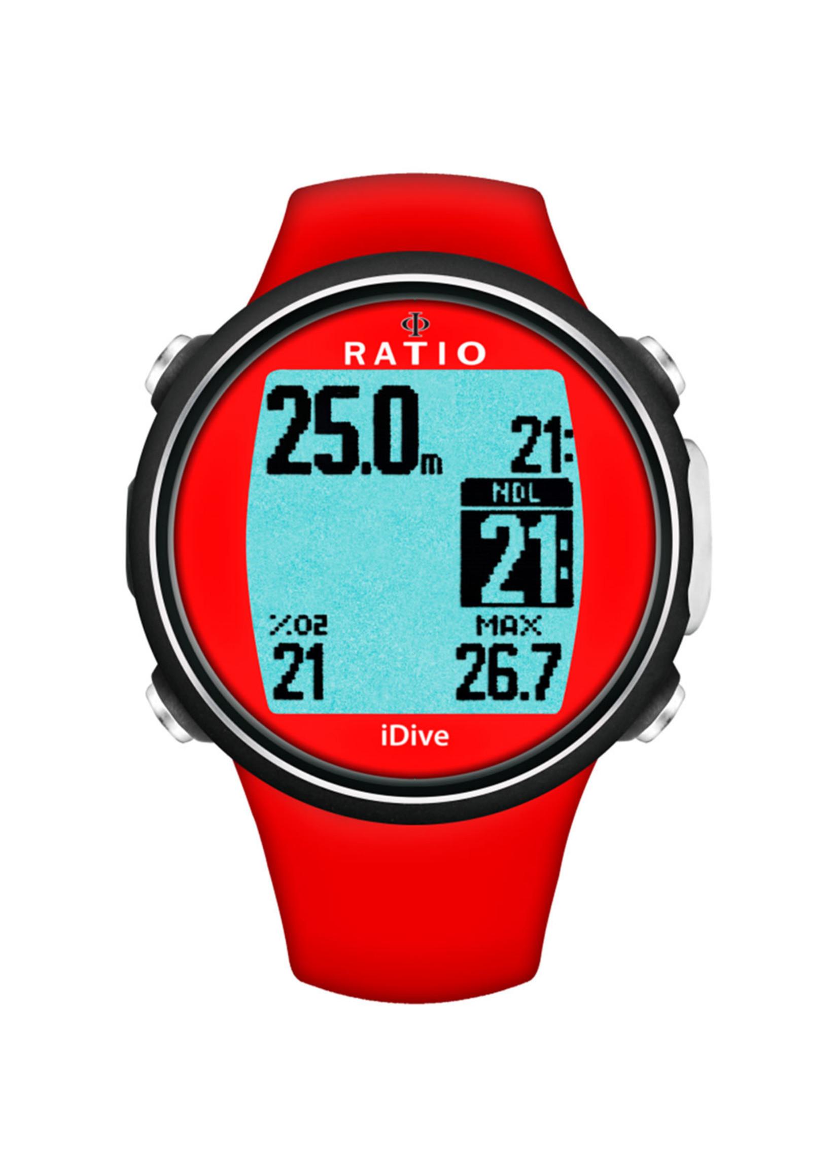 Ratio Ratio iDive Sport - Rood