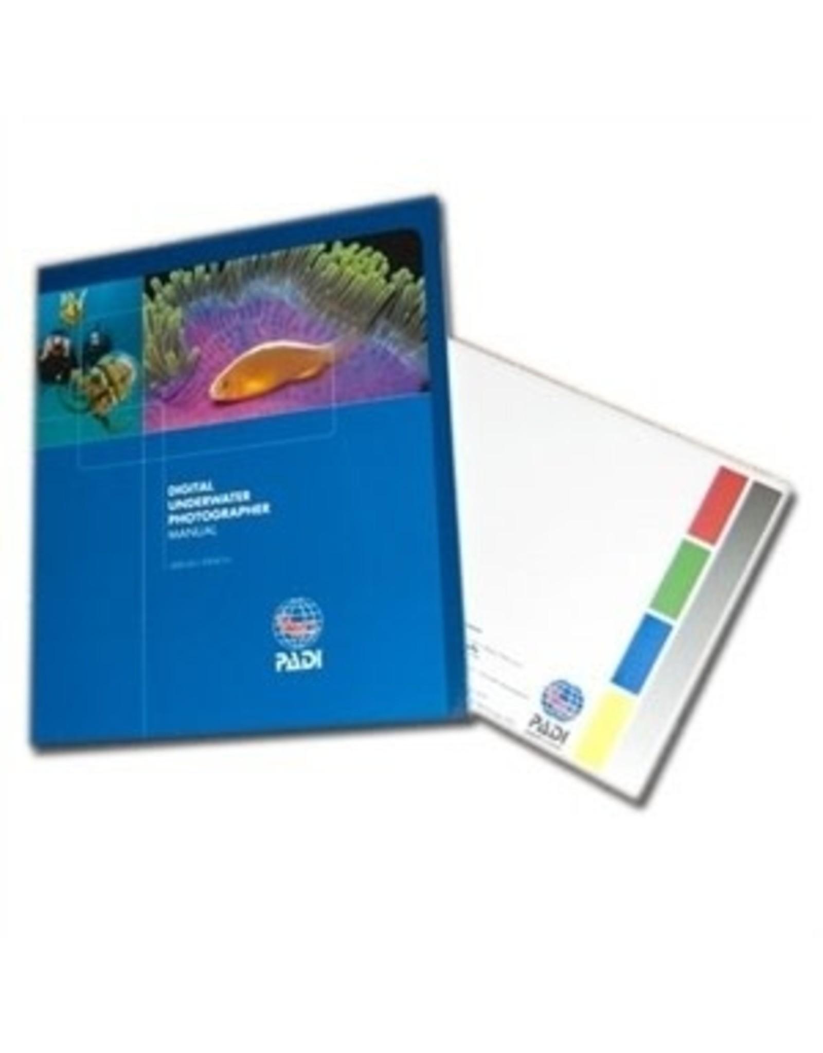 PADI PADI Pack - Digital Underwater Photographer Specialty