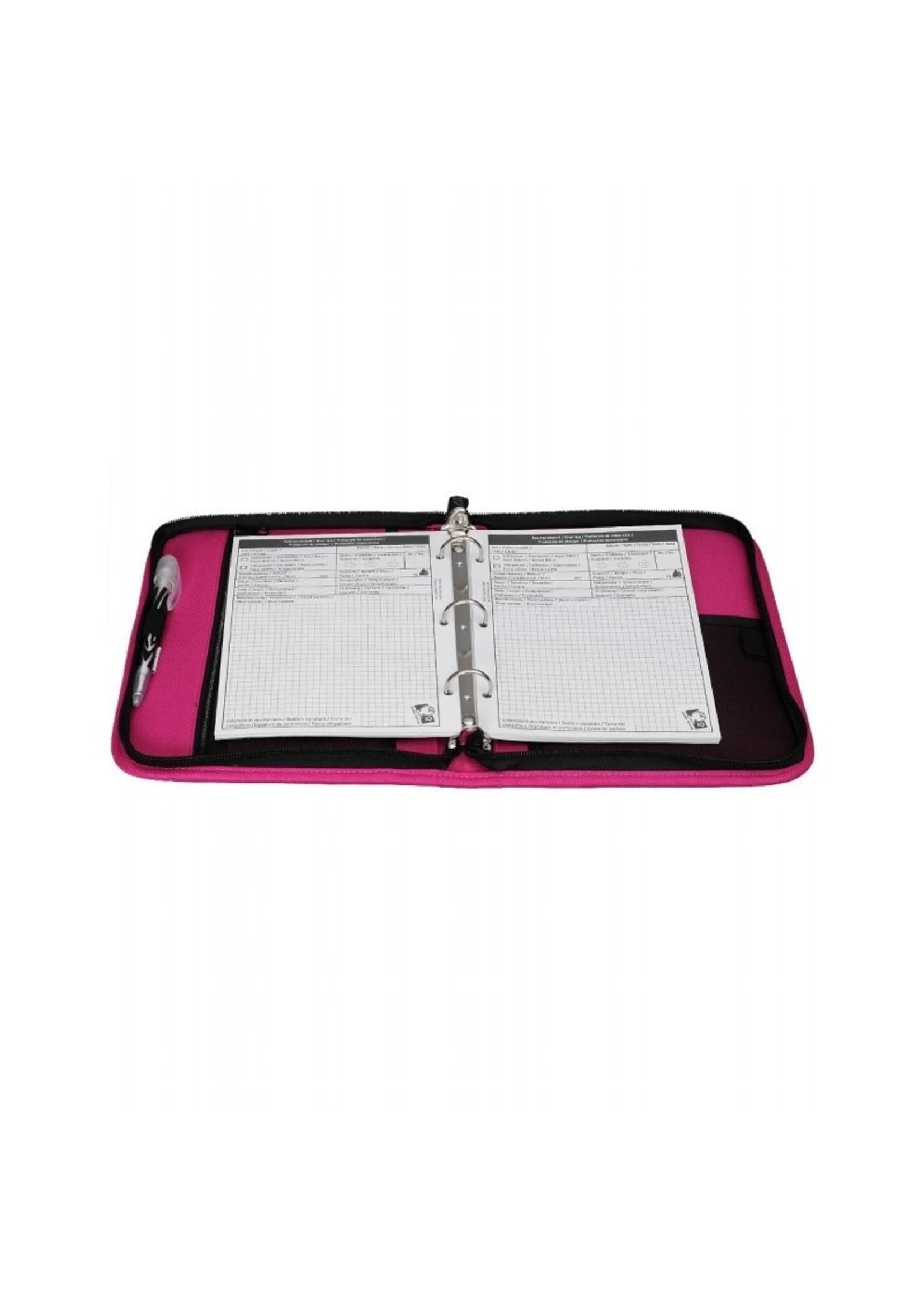 iQ Logboek 3-rings - Pink