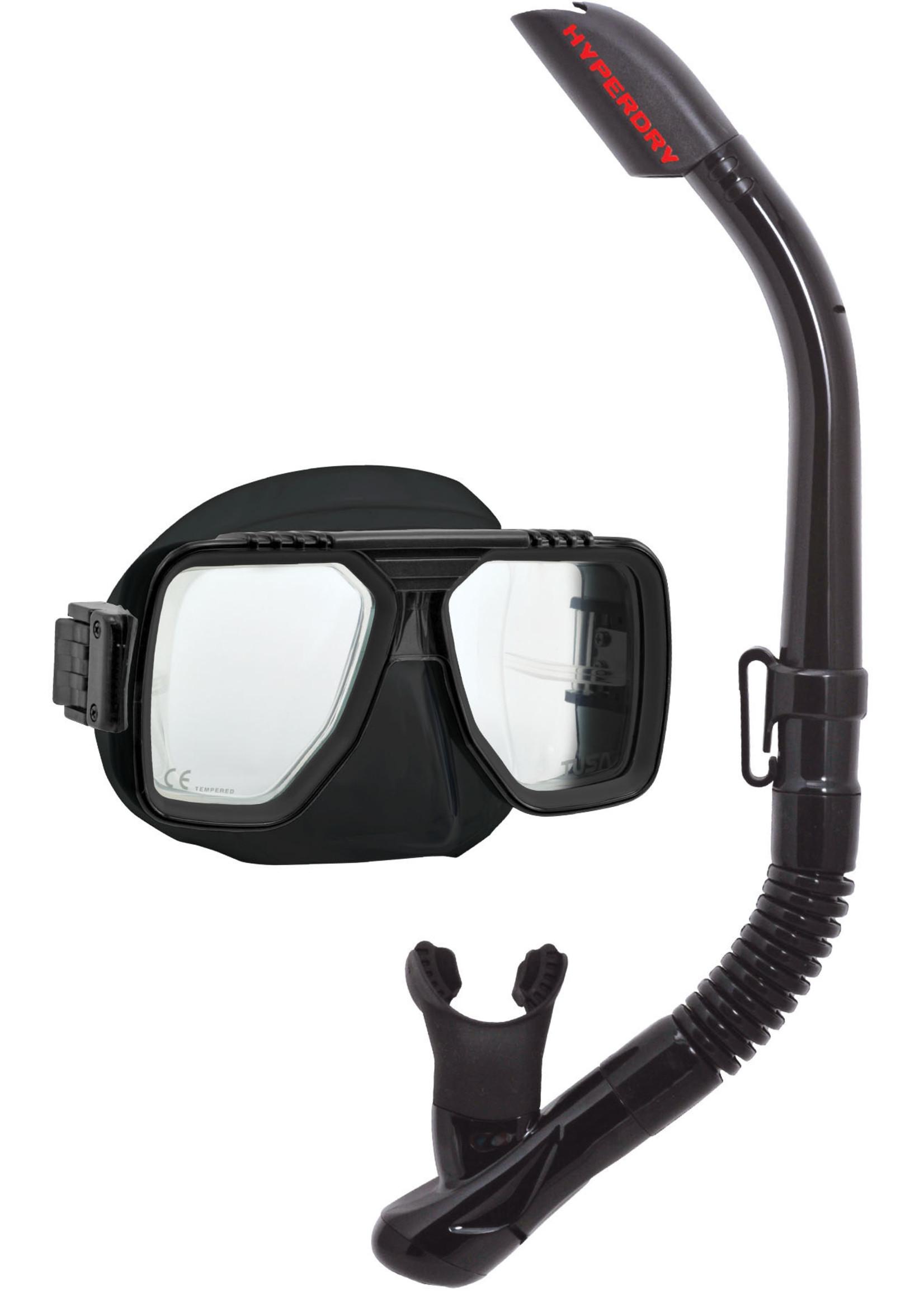 TUSA TUSA Liberator Adult Dry Combo - Black/Black