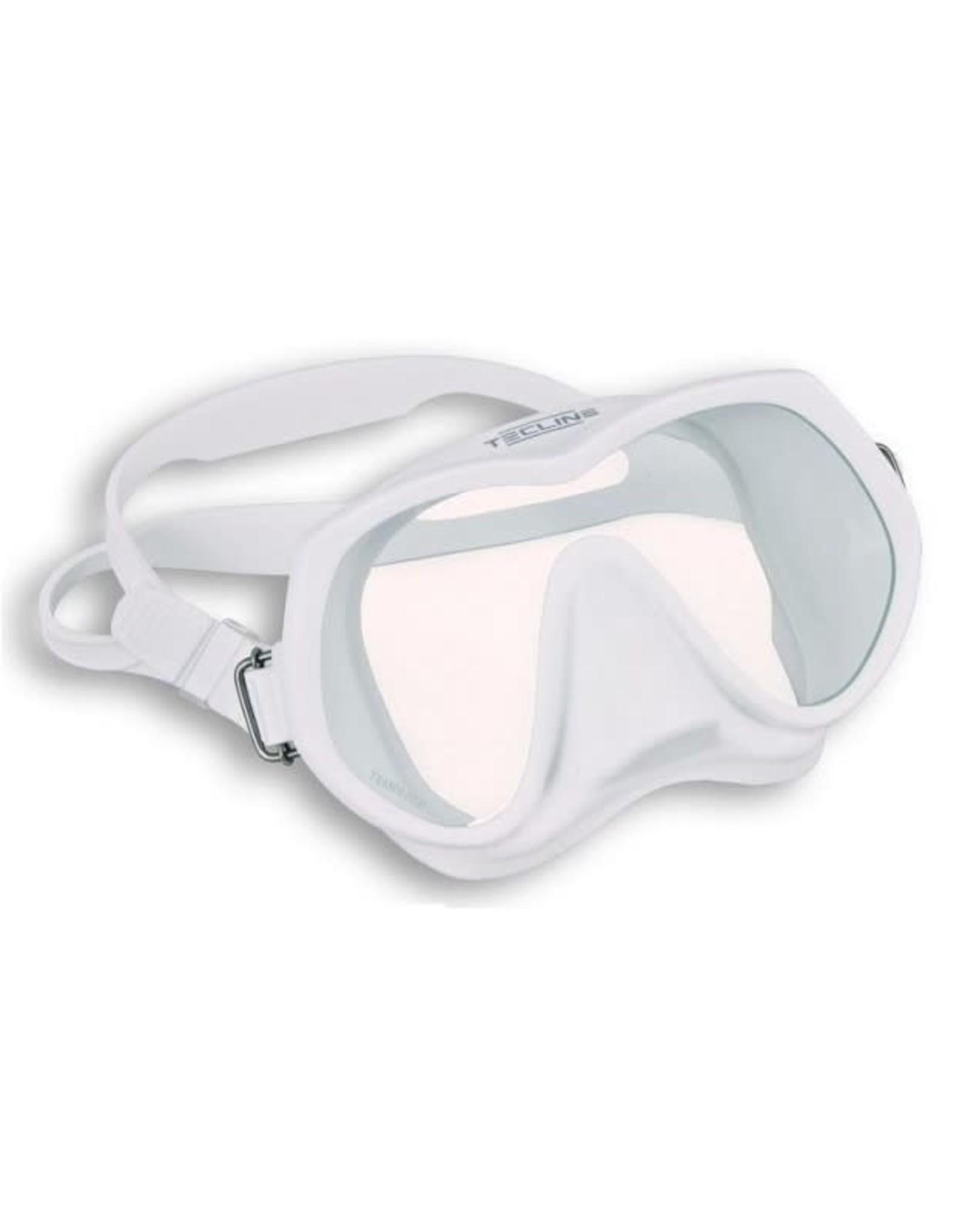 TecLine Tecline Frameless Super View masker - White
