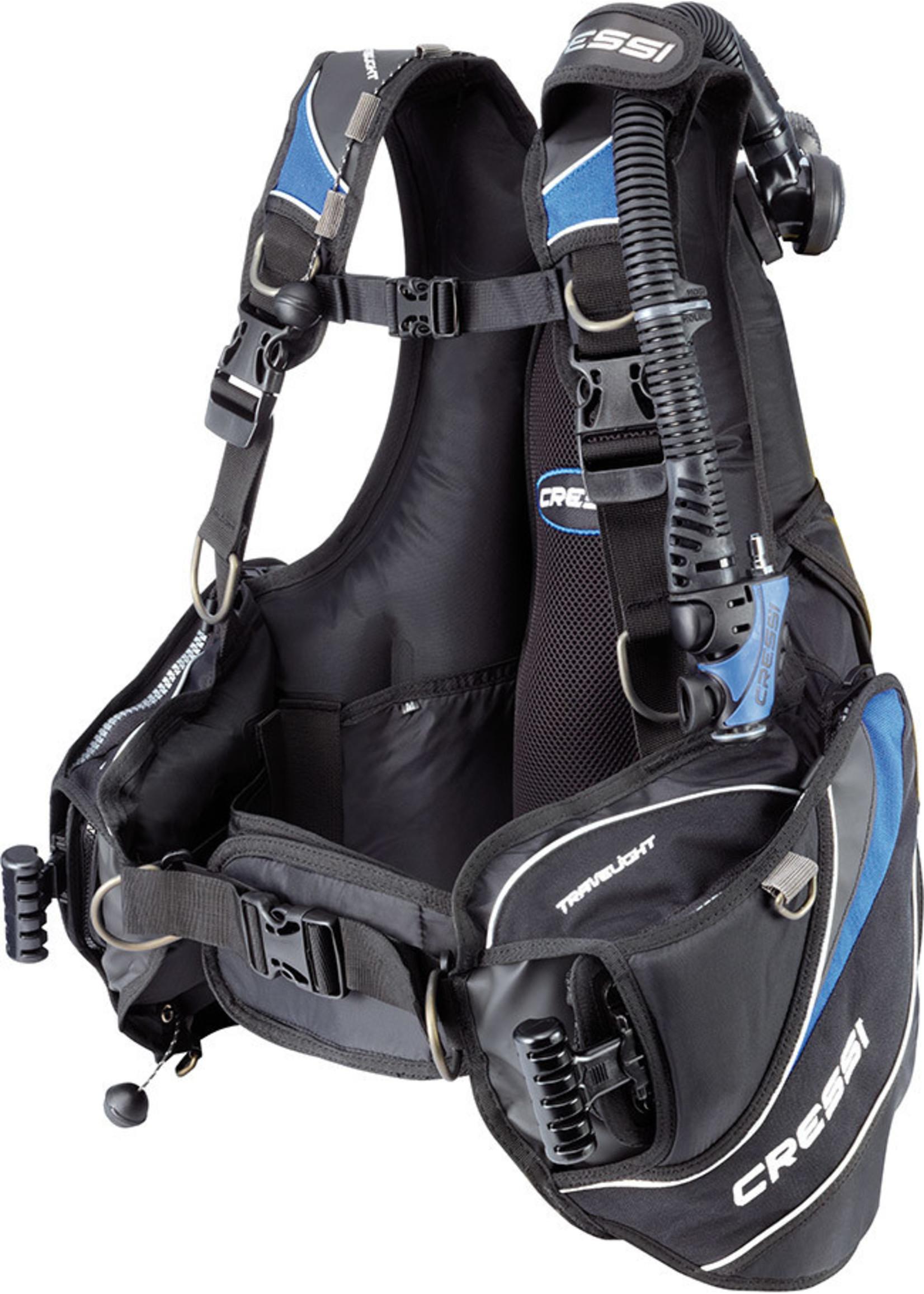 Cressi Cressi Travellight BCD  - Blauw