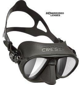 Cressi Cressi CALIBRO SF - Black/Black - HD Lens