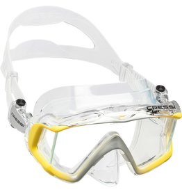 Cressi Cressi LIBERTY Triside - Clear/Yellow