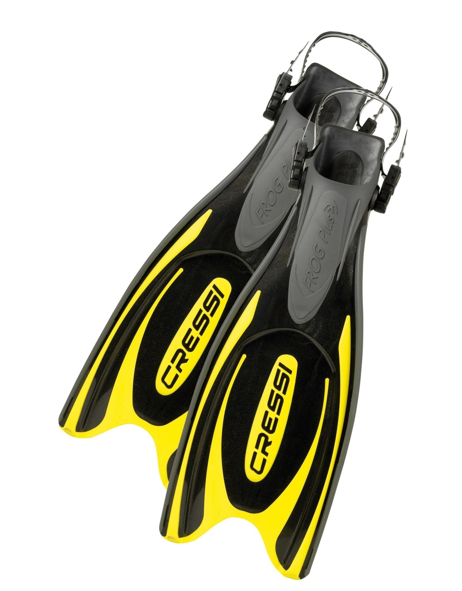 Cressi Cressi FROG PLUS - Black/Yellow
