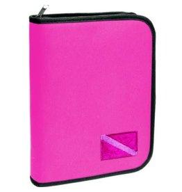 Logboek - 3 Ring - Embroided Pink