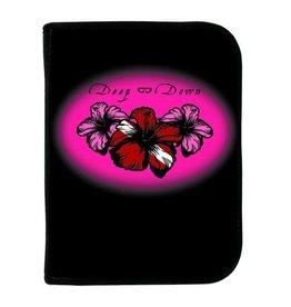 Logboek - 3 Ring - Pink Hibiscus