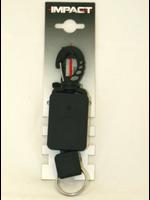 Impact Retractor met  clip - 50cm kabel