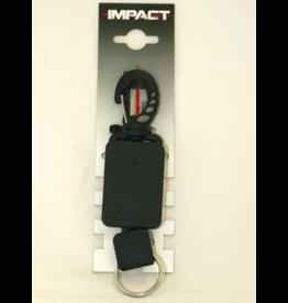 Impact Impact Retractor met  clip - 50cm kabel