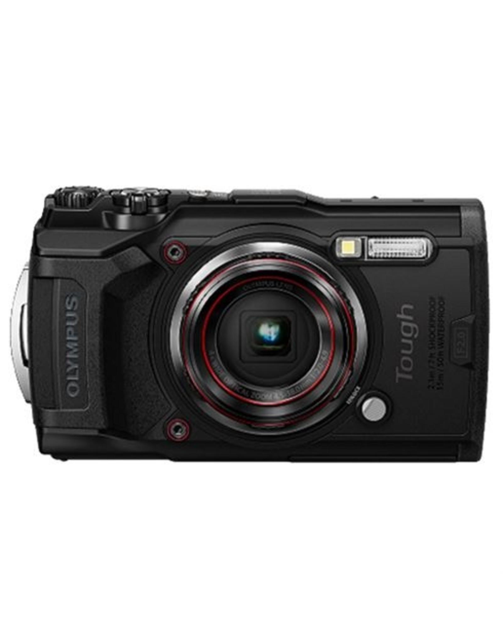 Olympus Tough TG-6 Camera - Zwart