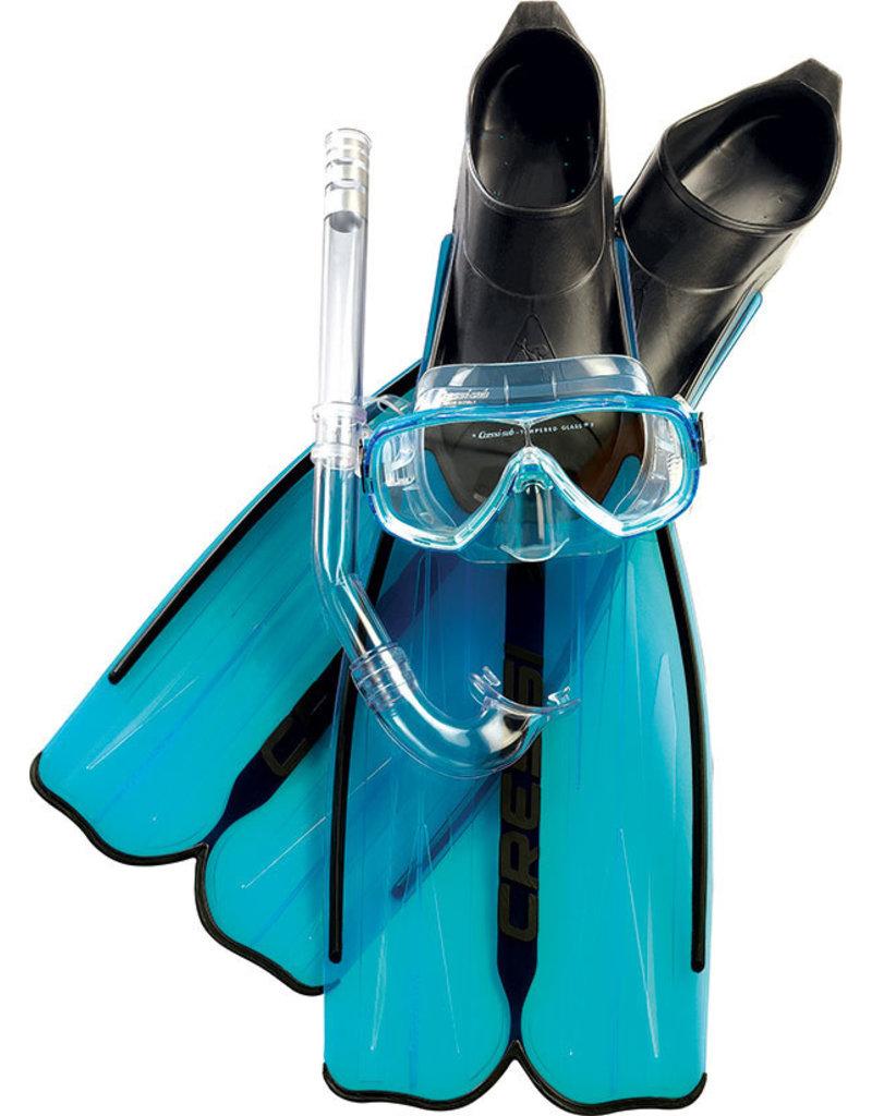 Cressi Cressi Snorkelset RONDINELLA Bag - Aquamarine