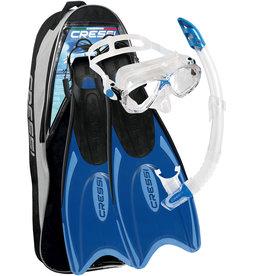Cressi Cressi Snorkelset PALAU MAREA Bag - Blauw/Azure