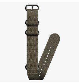 Suunto Suunto 24mm Dive 2 Textile Zulu Strap Kit D5 Stealth/Black L