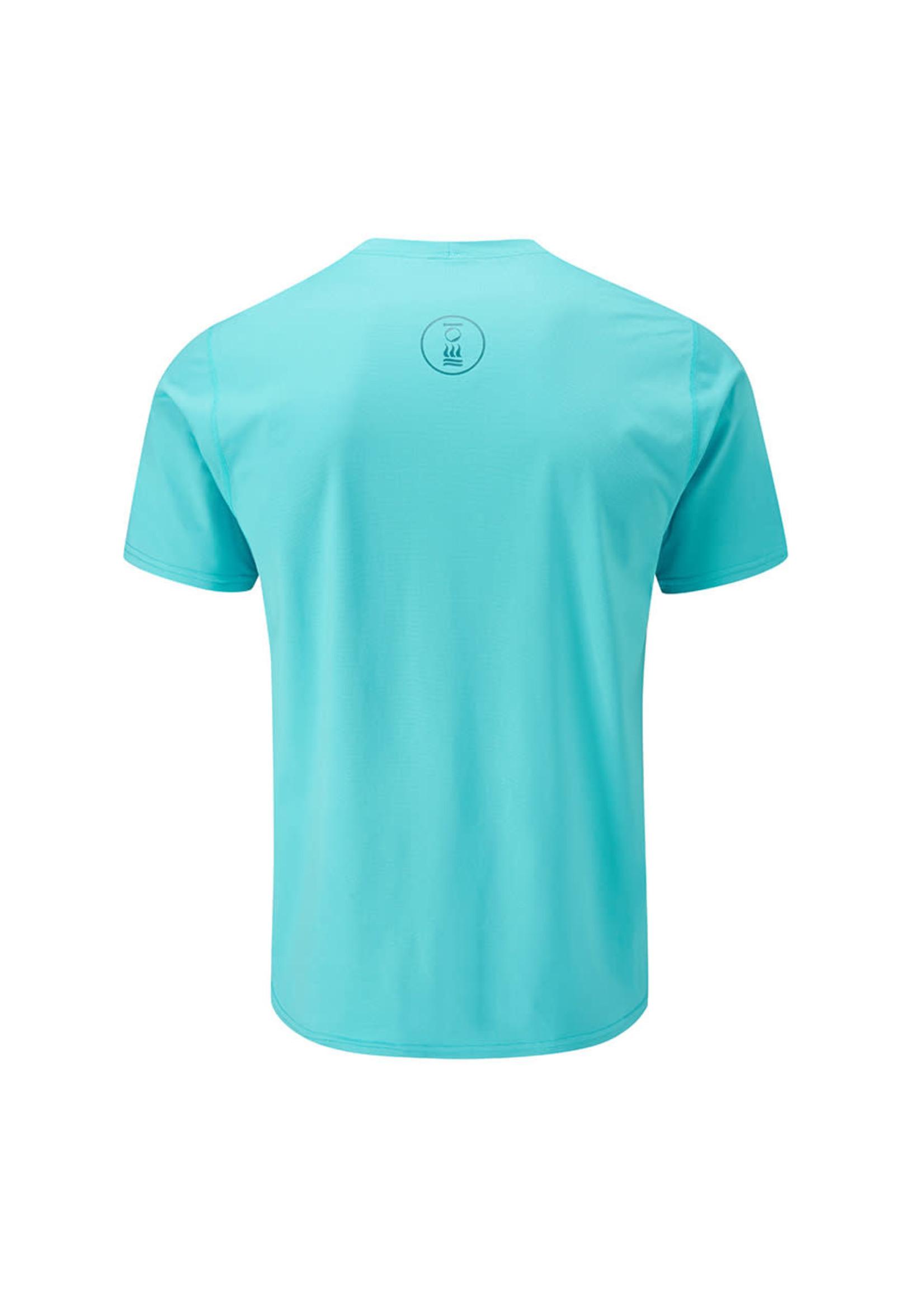 Fourth Element Fourth Element Hydro-T Short Sleeve Azure Blue - man
