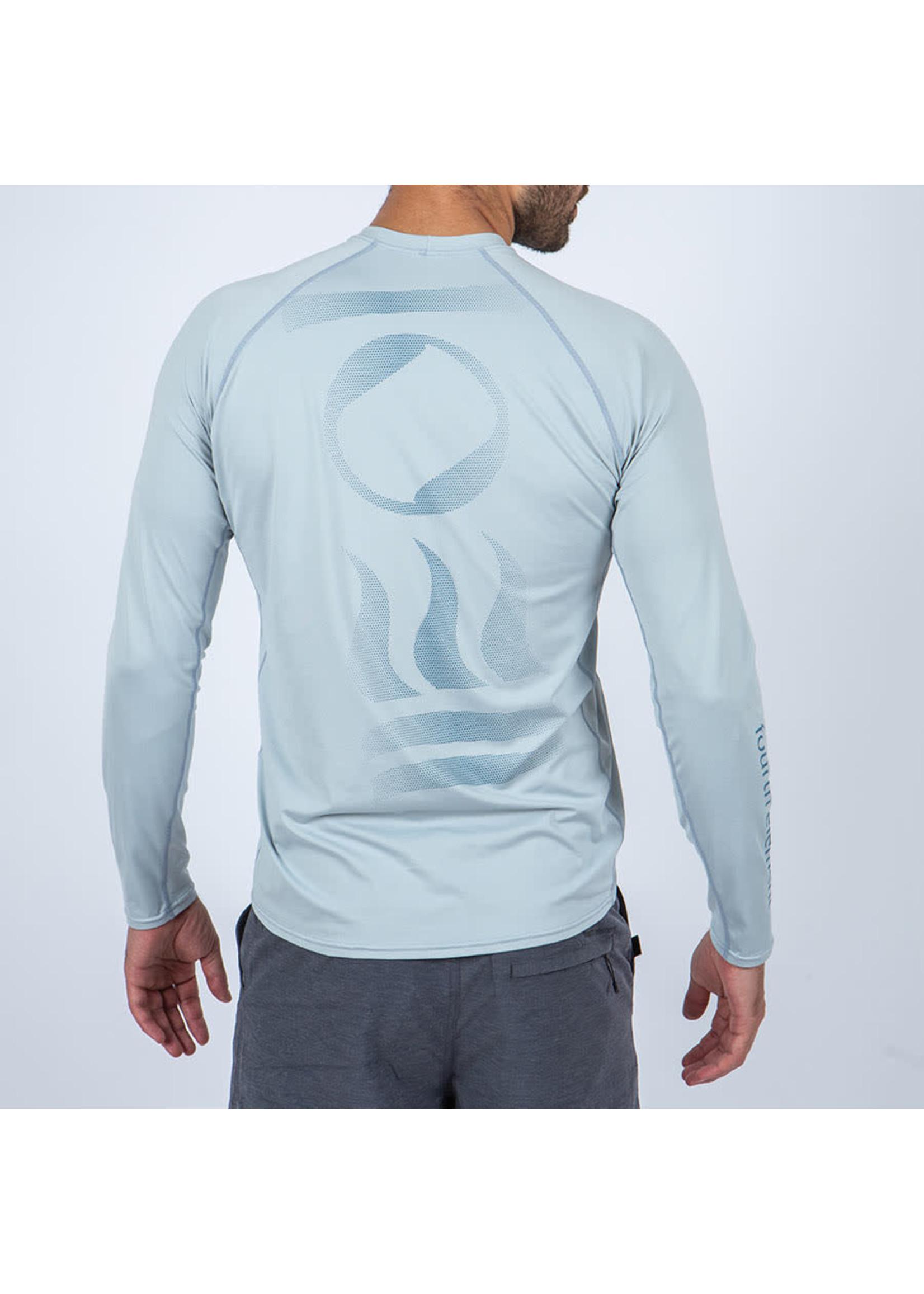 Fourth Element Fourth Element Hydro-T Long Sleeve Ice Blue - man