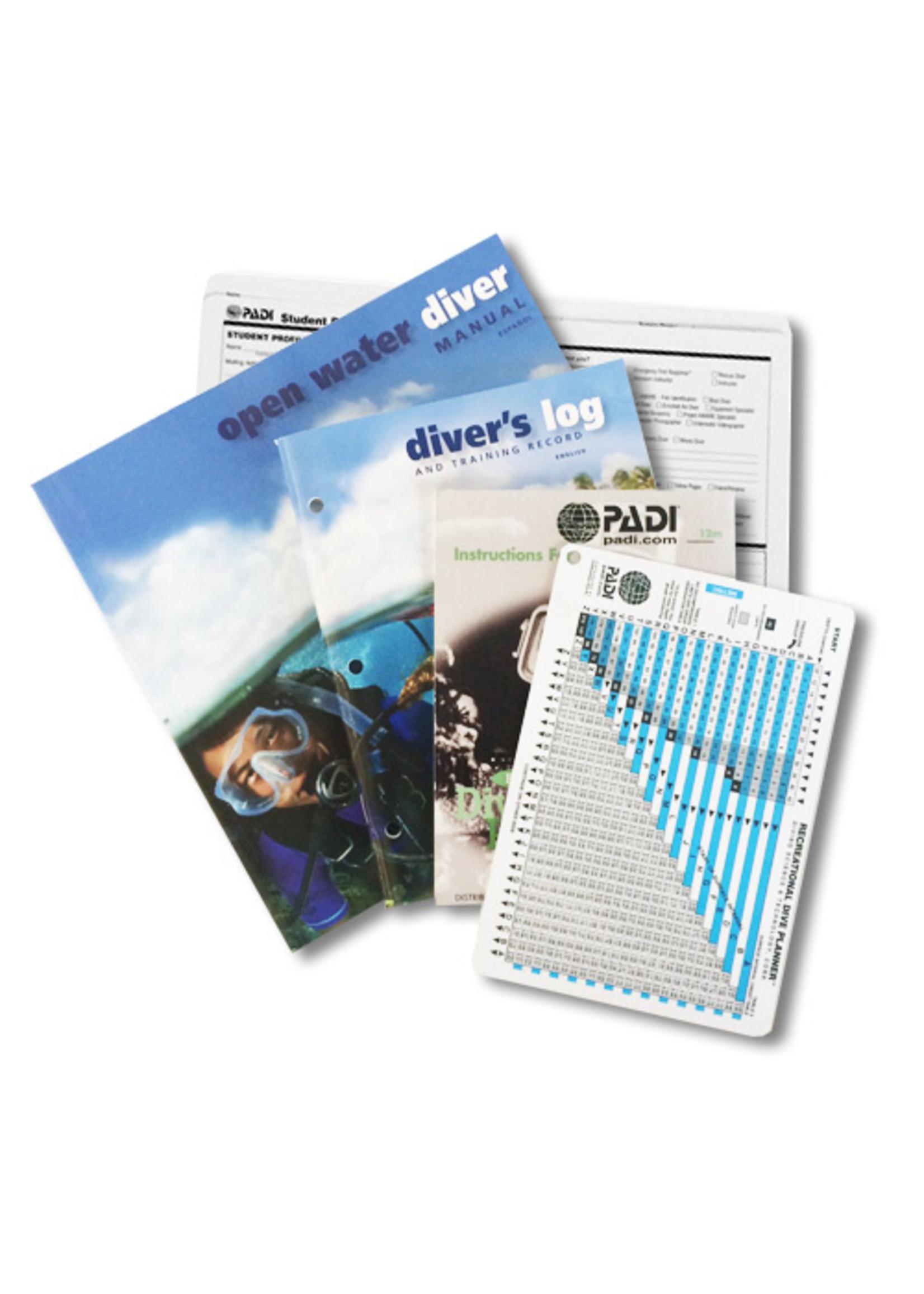 PADI Crewpack - Open Water met RDP tabel