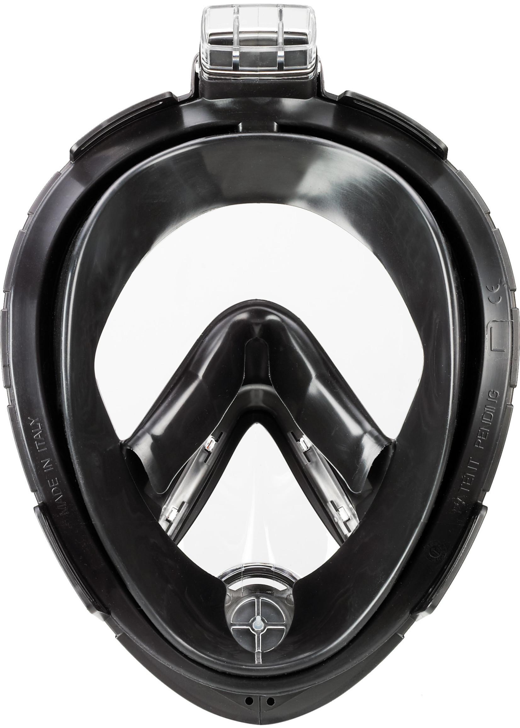 TUSA Full-Face Snorkeling Mask - Black