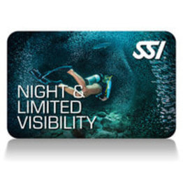 SSI SSI Night and limited visibility Diving Specialty