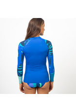 Fourth Element Fourth Element Hydroskin Ocean Positive - Long Sleeve Blue - vrouw