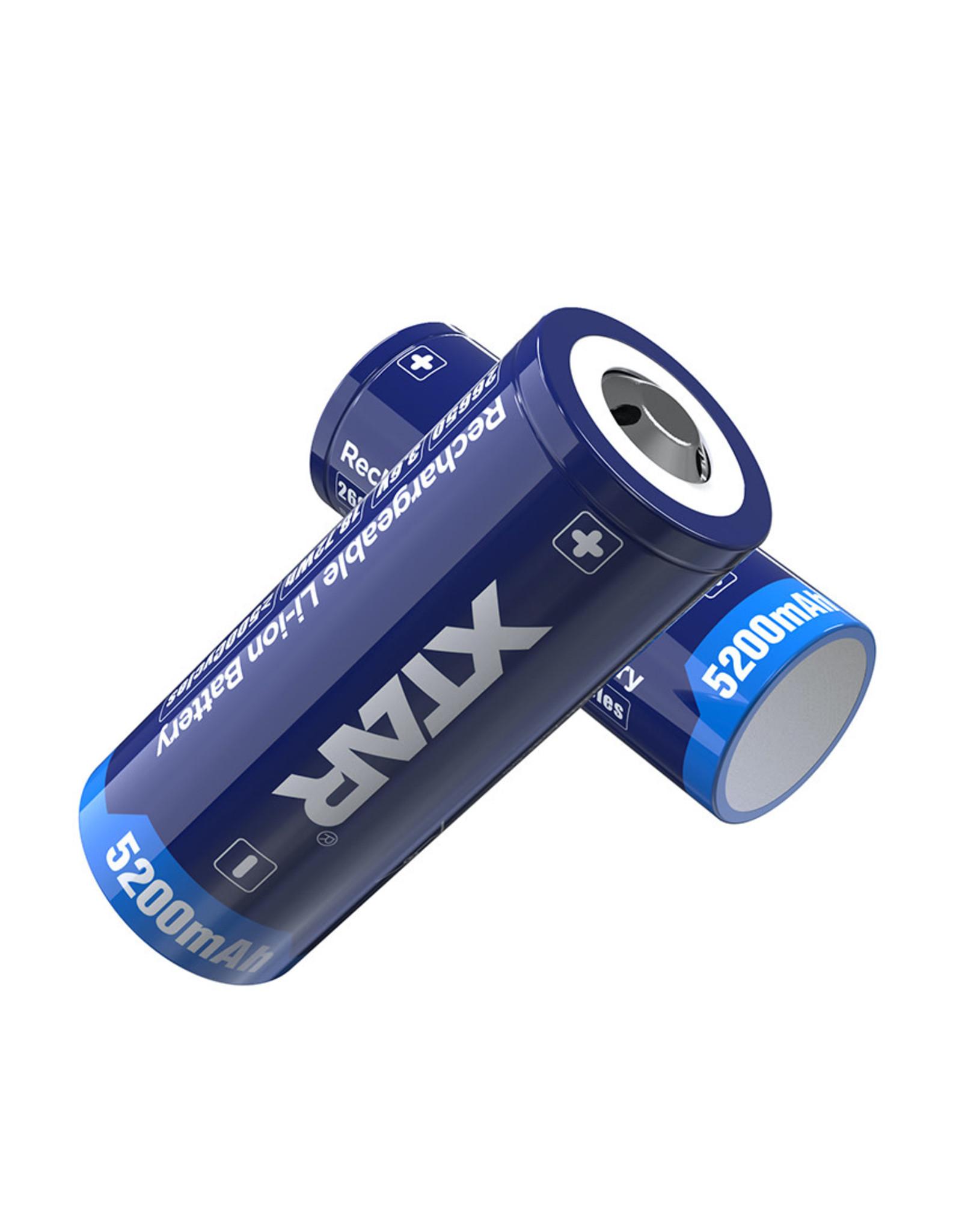 Xtar 26650 batterij 5000mAh 3.7v