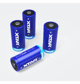 Xtar cr123 batterijen 1400mAh set van 2