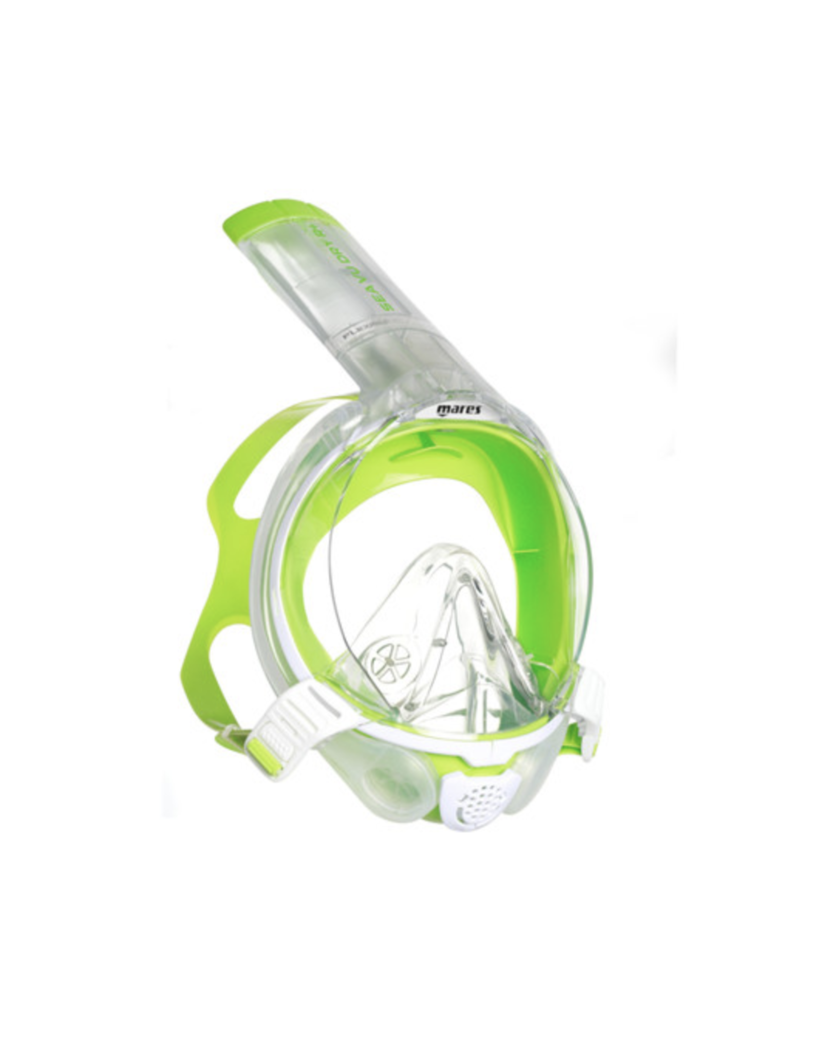 Mares Mares Sea Vu Dry R+ - White/Lime