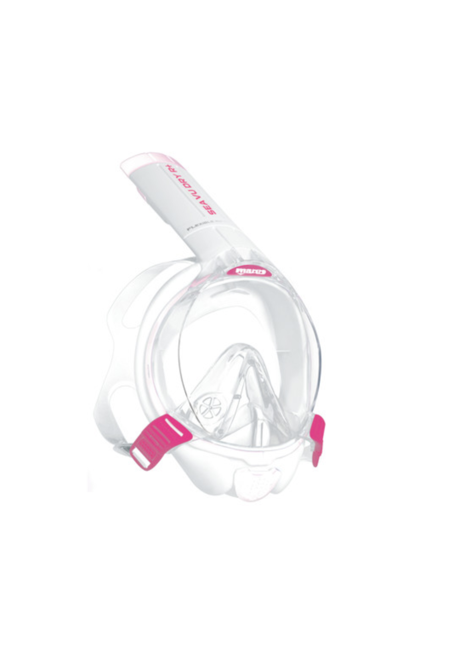Mares Sea Vu Dry R+ - Pink/White