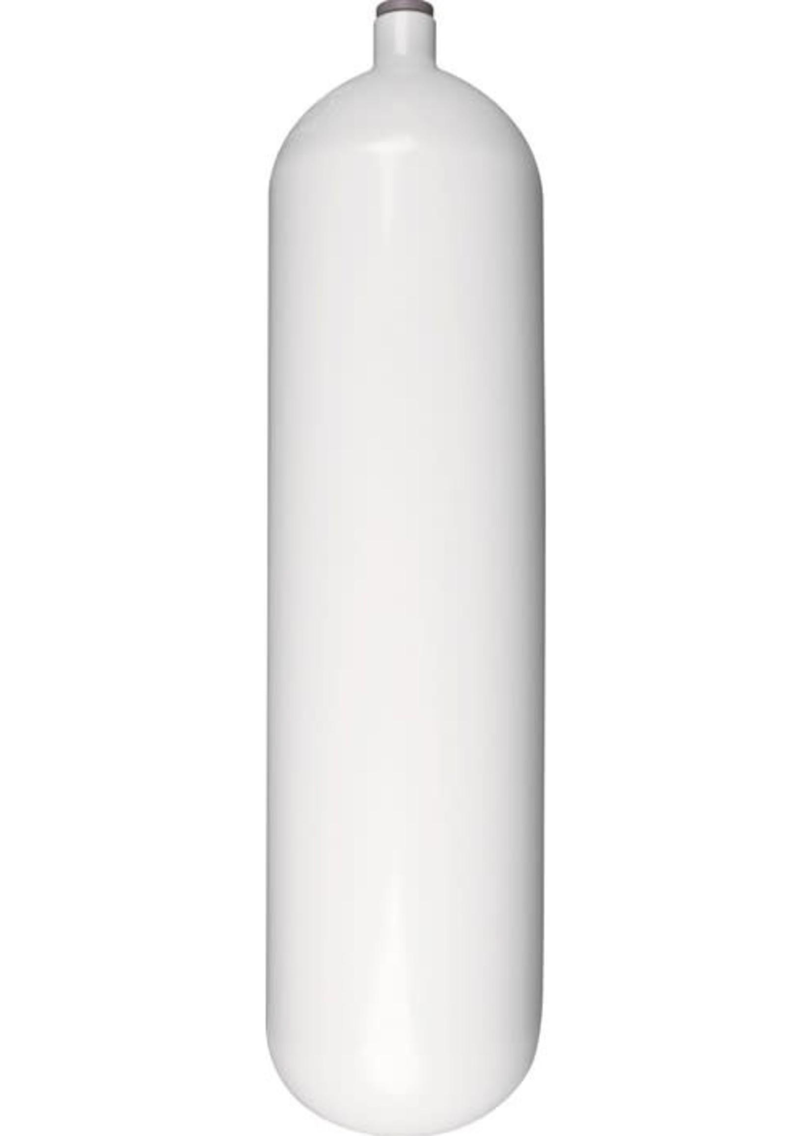 Stalen Fles 300bar M25x2 - diverse varianten