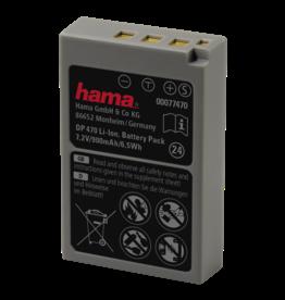 Hama DP470 lith.ion accu voor Olympus BLS-50