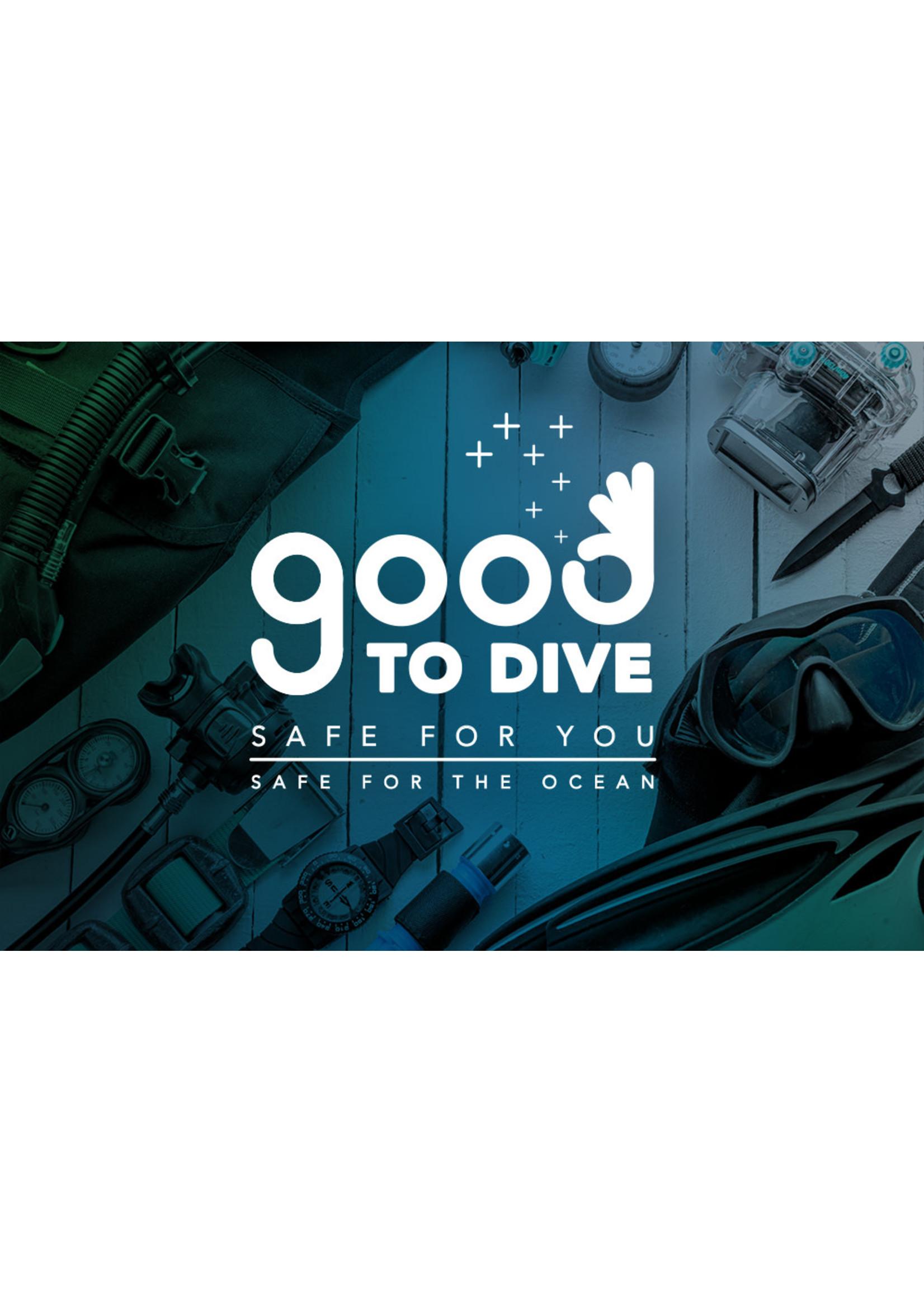 GoodToDive Disinfectant 1kg Tub