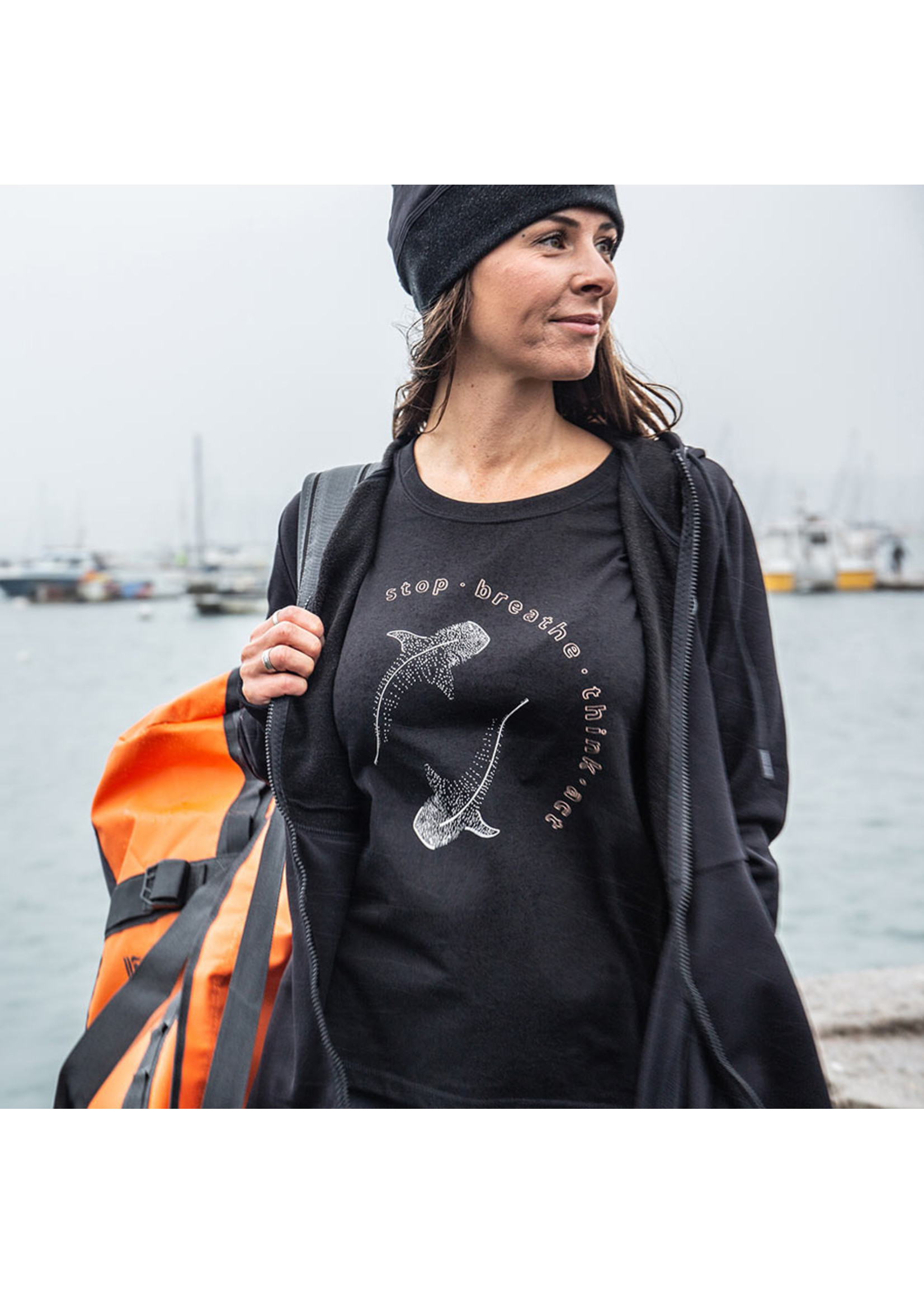 Fourth Element Whale Shark T-Shirt - vrouw