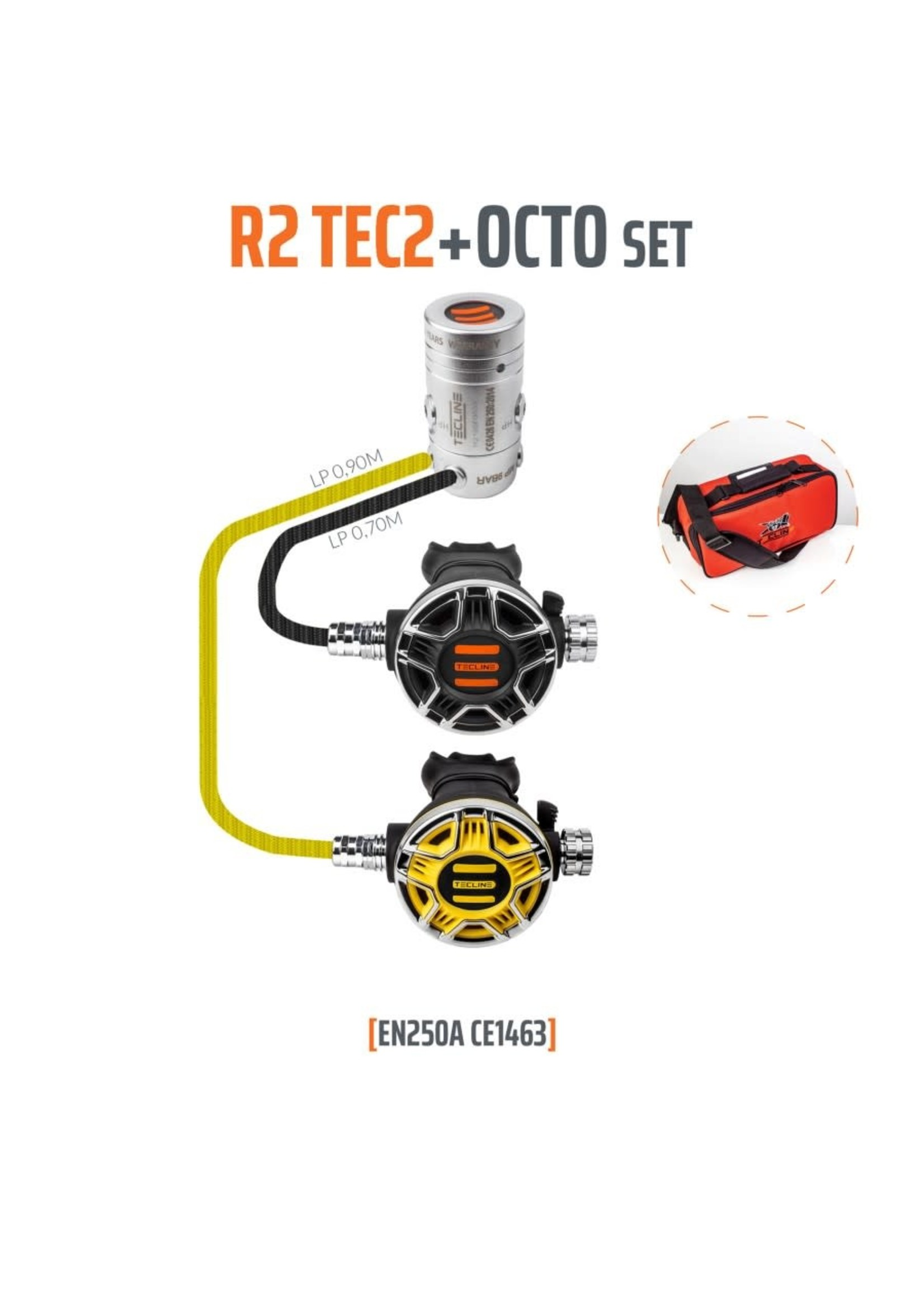 TecLine Tecline R2 TEC2 + Octo set