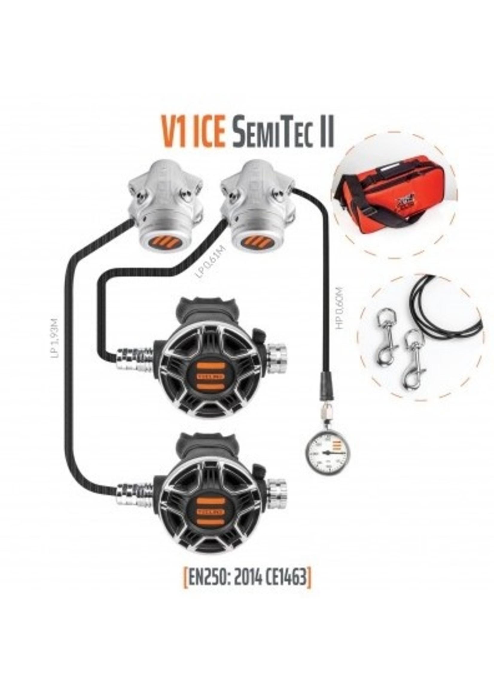TecLine Tecline V1 Ice TEC2 SemiTec II set met Mano