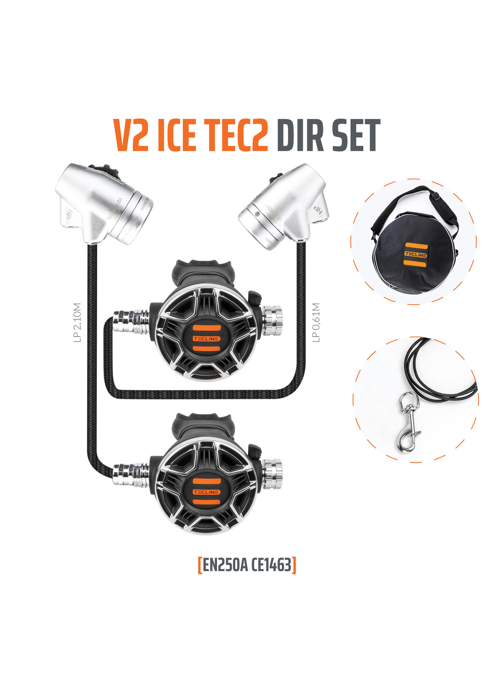 TecLine Tecline V2 Ice TEC2 DIR set